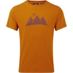 Mountain Equipment Mountain Sun Tee Herr pumpkin spice